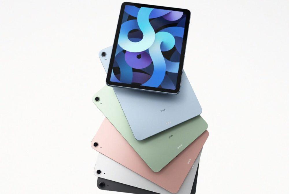 Apple iPad Air 4 Apple a été le plus gros vendeur de tablettes à la fin de lannée 2020