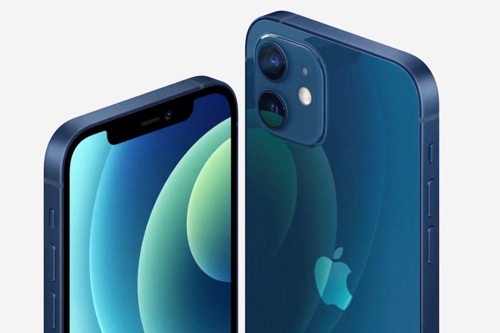 Apple iPhone 12 Bleu iPhone 12 : vous naurez pas la 5G si vous utilisez la double SIM