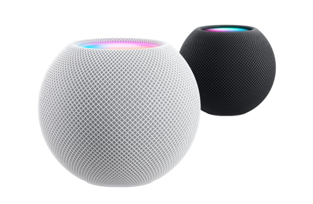 HomePod mini Apple Coloris HomePod mini : petit, mais super intelligent avec de nouvelles fonctionnalités Siri