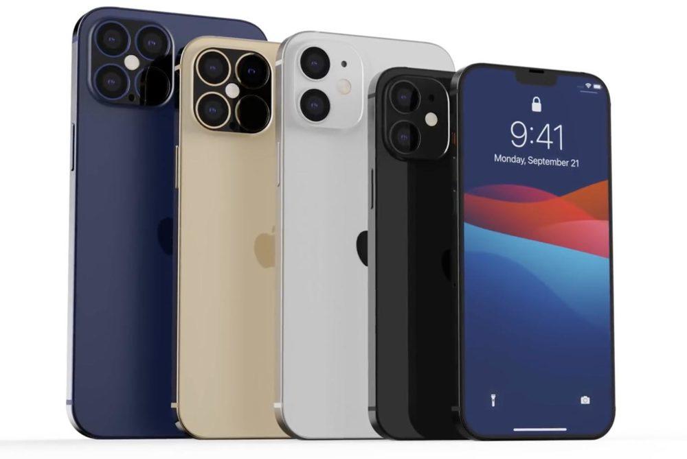 Rendus iPhone 12 iPhone 12 Pro : Face ID plus rapide, zoom amélioré et meilleure autonomie, selon une rumeur