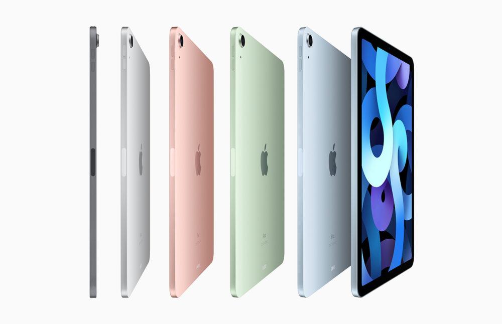 iPad Air 4 LiPhone 12, liPhone 12 Pro et liPad Air 4 sont proposés à lachat par Apple