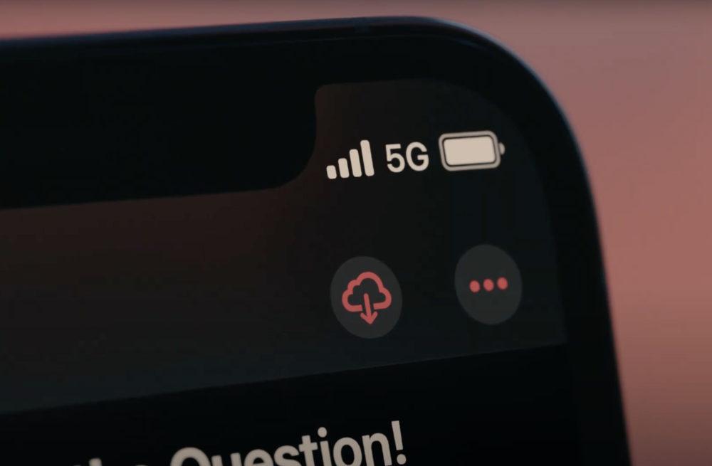 iPhone 12 5G iPhone 12 : le téléchargement des mises à jour diOS en 5G sera possible