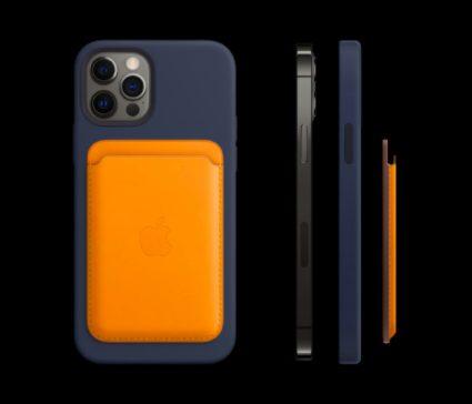 iPhone 12 Pro MagSafe iPhone 12 Pro et 12 Pro Max : 5G, design proche de liPhone 4, Dolby Vision, LiDAR, A14 Bionic, 3 capteurs photos...