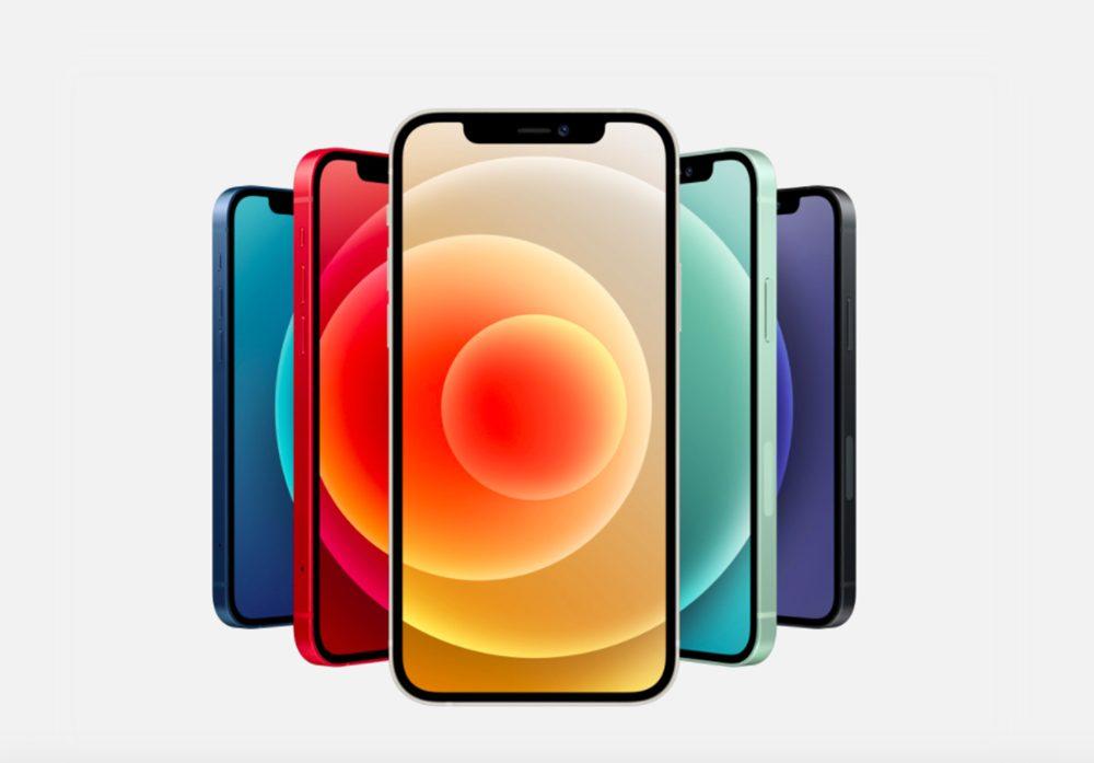 iPhone 12 iPhone 12 Mini iPhone 12 et 12 mini : 5G, design proche de liPad Pro, 2 capteurs photos, verre plus résistant, MagSafe...