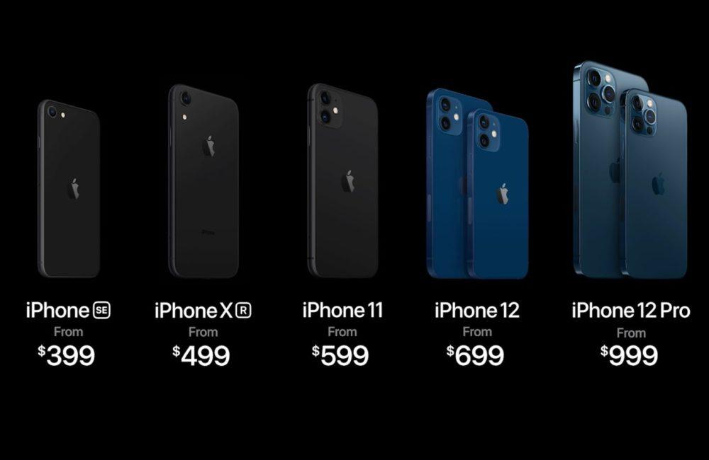 iPhone Prix Dollars iPhone 12, 12 mini, 12 Pro et 12 Pro Max : voici les prix en euros