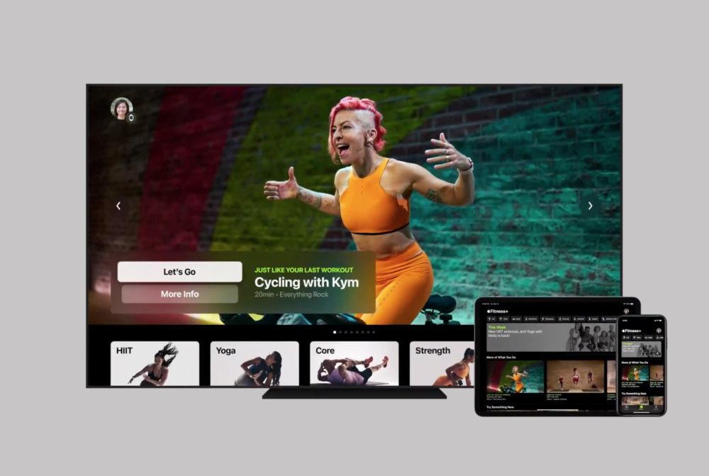 Apple Fitness Plus Apple TV iPad iPhone Apple annonce quApple Fitness+ sera disponible le 14 décembre
