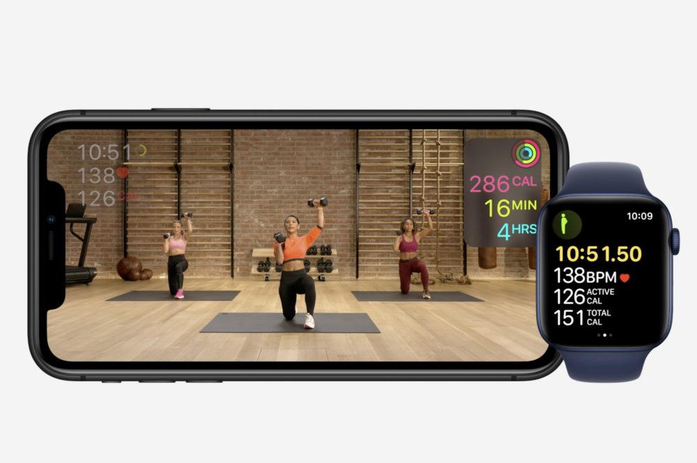 Apple Fitness Fitness+ : une page dédiée est disponible sur le site français dApple
