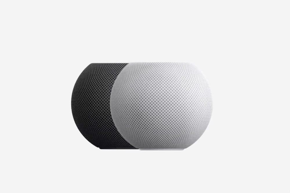Apple HomePod mini Noir Blanc HomePod mini : les précommandes sont lancées par Apple