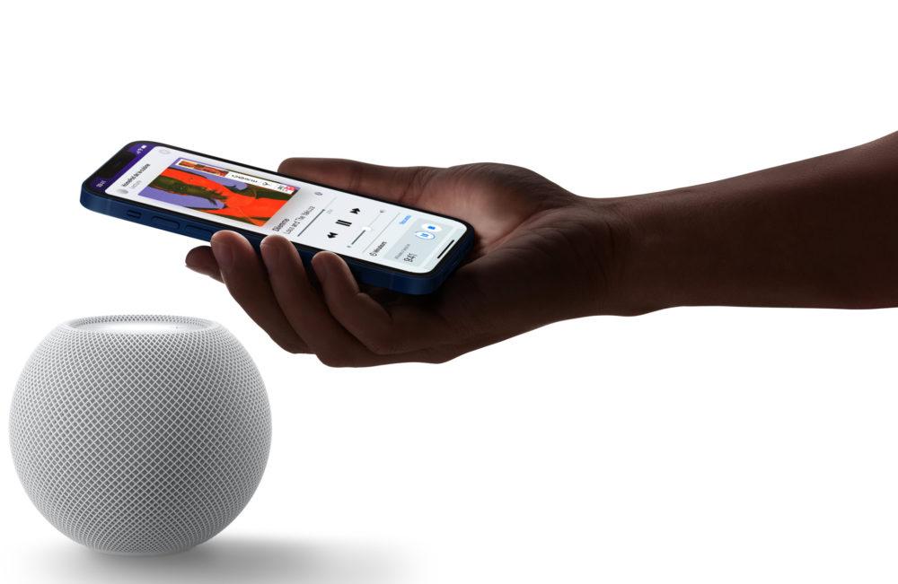 Apple HomePod mini iPhone 12 HomePod mini : les précommandes sont lancées par Apple