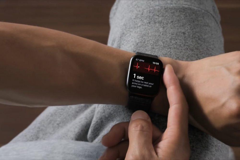 Apple Watch ECG Application Apple Watch : les fonctionnalités ECG vont arriver en Corée du Sud et en Russie