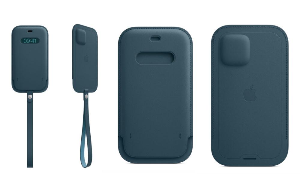 Housse Cuir Avec MagSafe iPhone 12 iPhone 12 : Apple propose à lachat la housse en cuir avec MagSafe