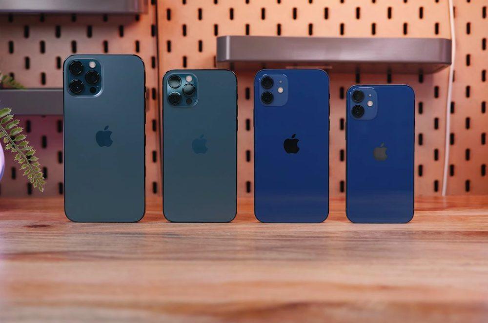 Les 4 iPhone 12 iOS 14.2 : Apple déploie une nouvelle version sur les iPhone 12