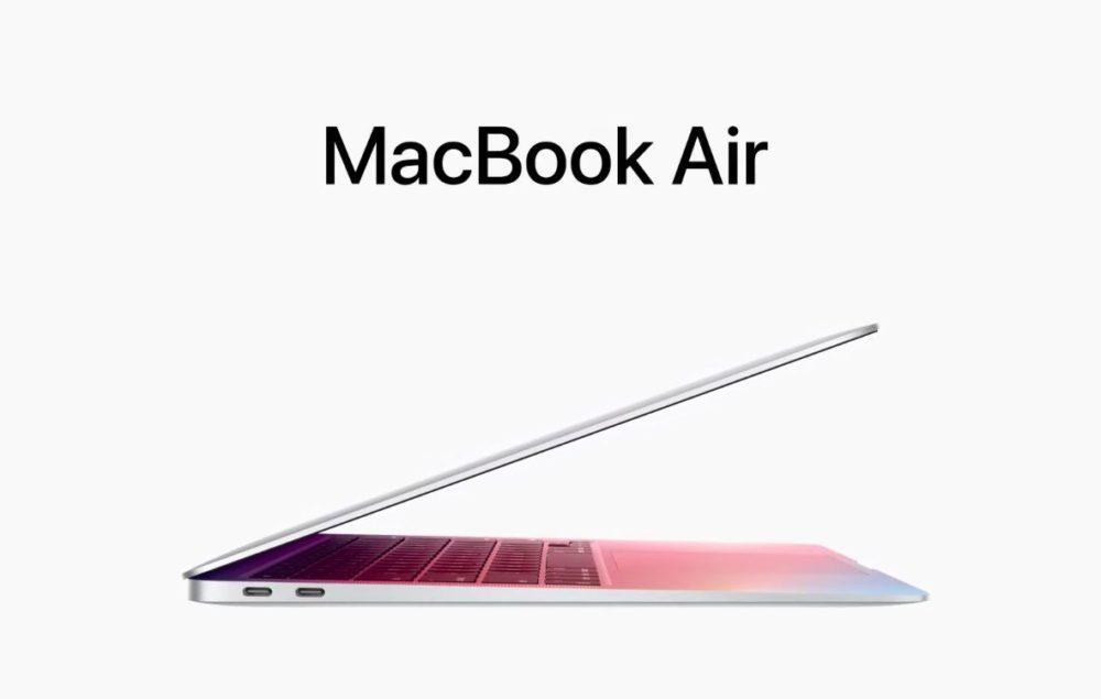 MacBook Air Apple Silicon M1 Le premier MacBook Air doté de la puce Apple M1 est là : plus de puissance, une meilleure autonomie...