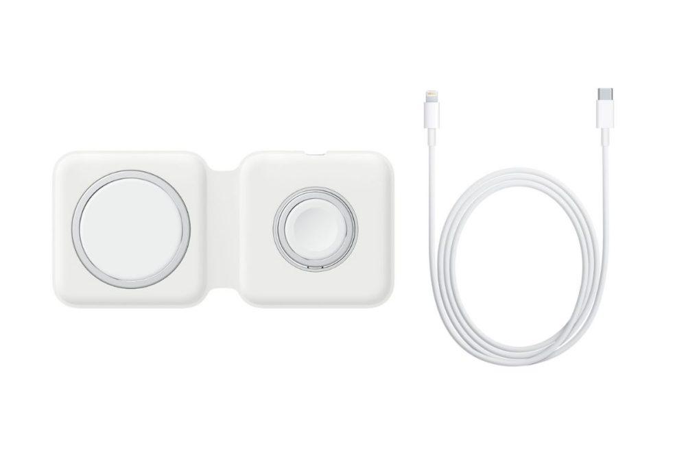 MagSafe Duo Chargeur USB C vers Lightning Apple propose à lachat son chargeur sans fil MagSafe Duo au prix de 149 euros