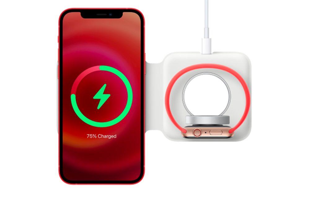 MagSafe Duo iPhone 12 Rouge Apple Watch Apple dévoile les appareils quil faut maintenir loin des dispositifs médicaux