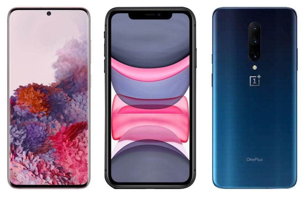 Samsung Galaxy iPhone 11 One Plus Ventes de smartphones : Apple est derrière Xiaomi pour le troisième trimestre 2020