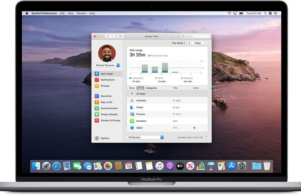 controle parental temps ecran macos Comment activer et configurer Temps d'écran, le contrôle parental inclut dans macOS