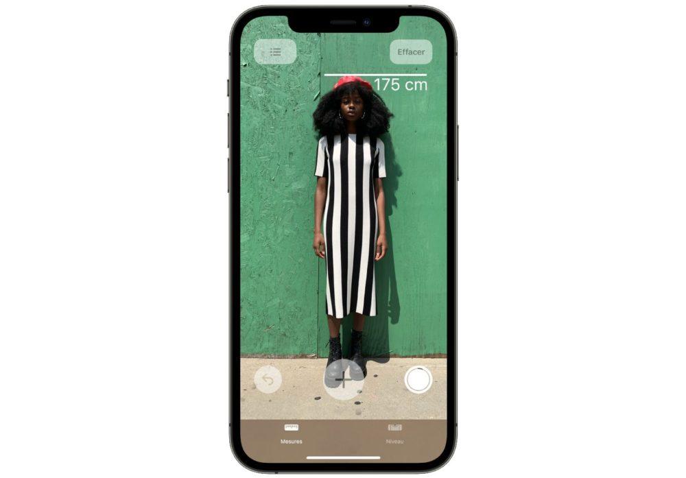 iPhone 12 Mesurer Taille Personne iPhone 12 Pro et 12 Pro Max : vous pouvez mesurer avec précision la taille dune personne
