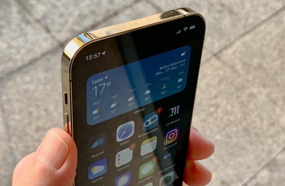 iPhone 12 Pro Or Apple pourrait sous peu nous proposer 1 To de stockage sur iPhone