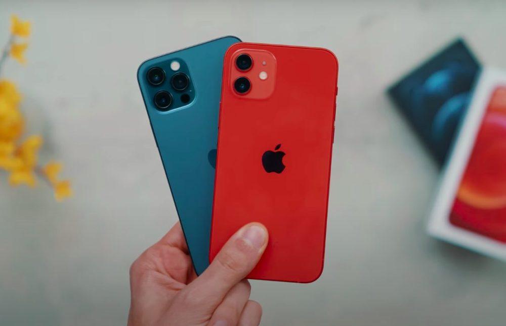 iPhone 12 et iPhone 12 Pro Arriere iPhone 12 Pro : une demande plus forte que celle de liPhone 12