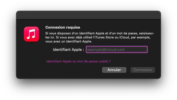 mac se connecter Comment faire si vous avez déjà 5 ordinateurs autorisés sur iTunes / Musique ?