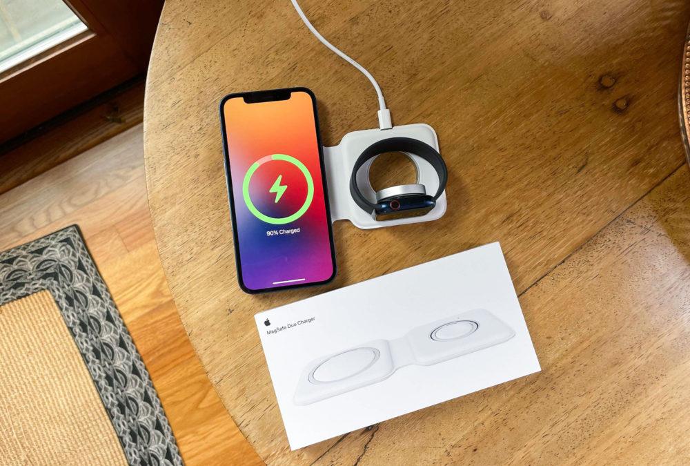 Apple MagSafe Duo Le chargeur MagSafe Duo nest pas compatible avec ladaptateur secteur 29 W dApple
