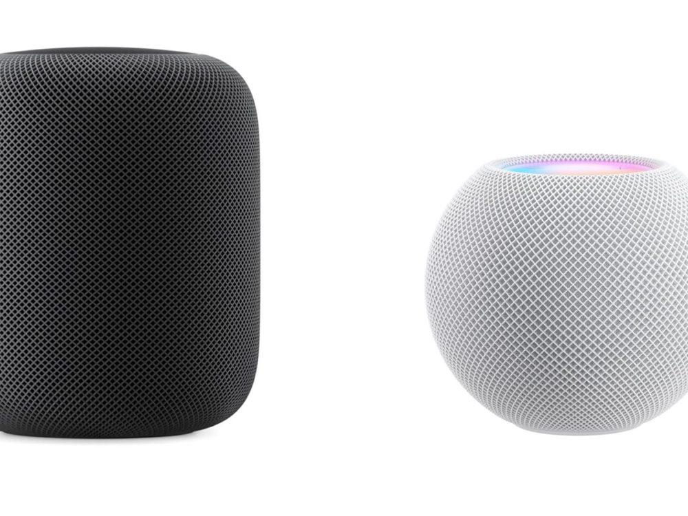 HomePod mini et HomePod HomePod et HomePod mini : Apple rend disponible la mise à jour 14.3