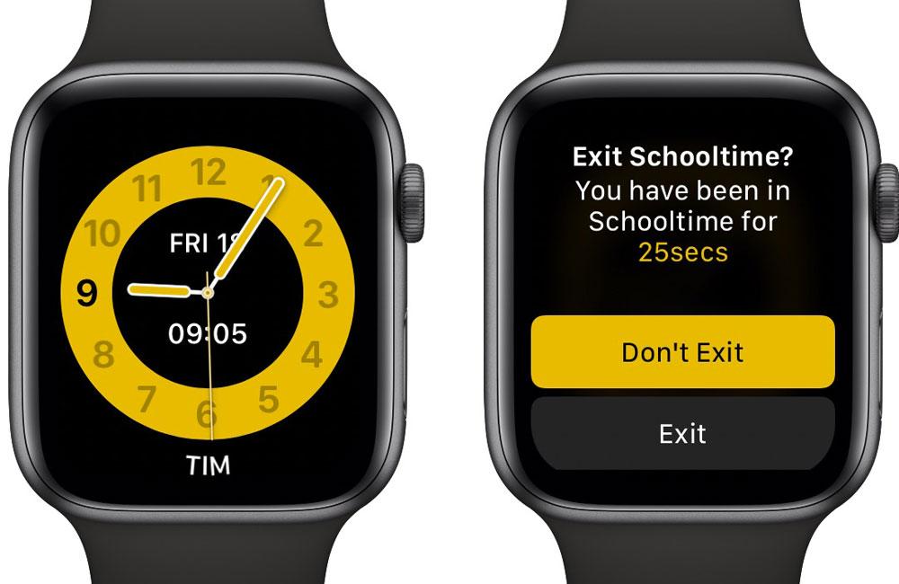 apple watch mode ecole Comment configurer le mode École de l'Apple Watch