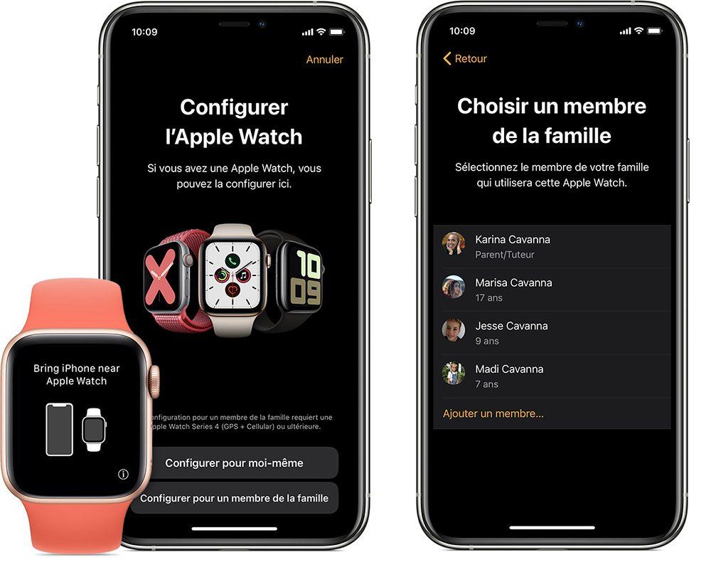 configuration familiale apple watch 1 Comment configurer la Configuration familiale des Apple Watch