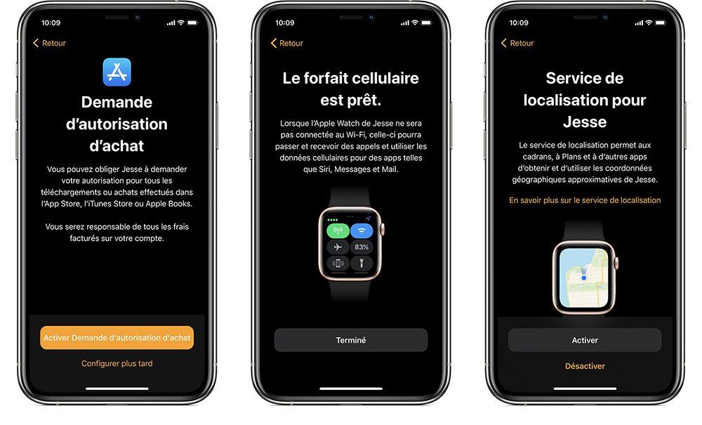 configuration familiale apple watch 2 Comment configurer la Configuration familiale des Apple Watch