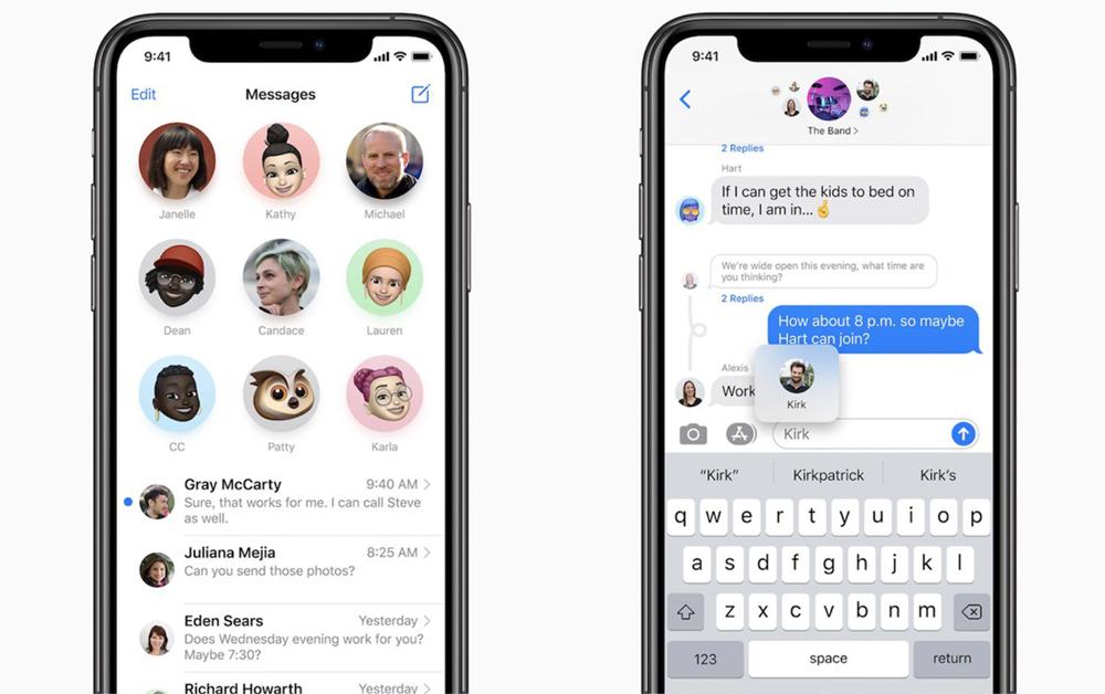 iOS 14 iMessage Certains utilisateurs diPhone sur iOS 14 continuent de ne pas recevoir les notifs de lapp Messages