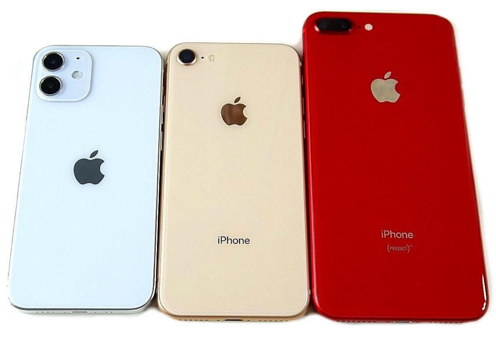 iPhone 12 iPhone 8 Plus Aux États Unis, pour la Noël 2020, les iPhone ont dominé les activations de smartphones