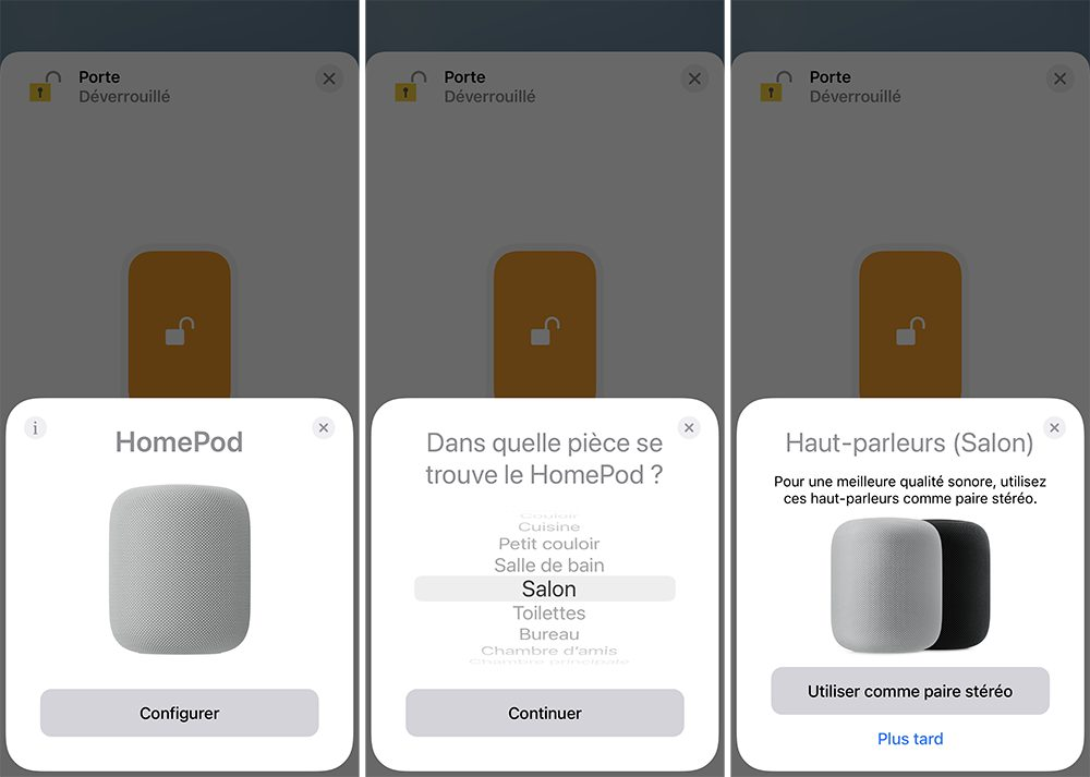 iphone ajout homepod paire stereo Comment configurer et utiliser 2 HomePod en stéréo