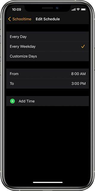 iphone apple watch mode ecole horaire Comment configurer le mode École de l'Apple Watch