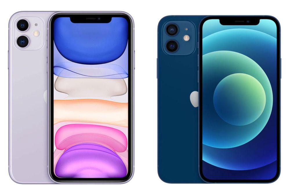 iPhone 11 et iPhone 12 Lautonomie de liPhone 11 et de liPhone 12 avec le mode sombre comparée dans une vidéo