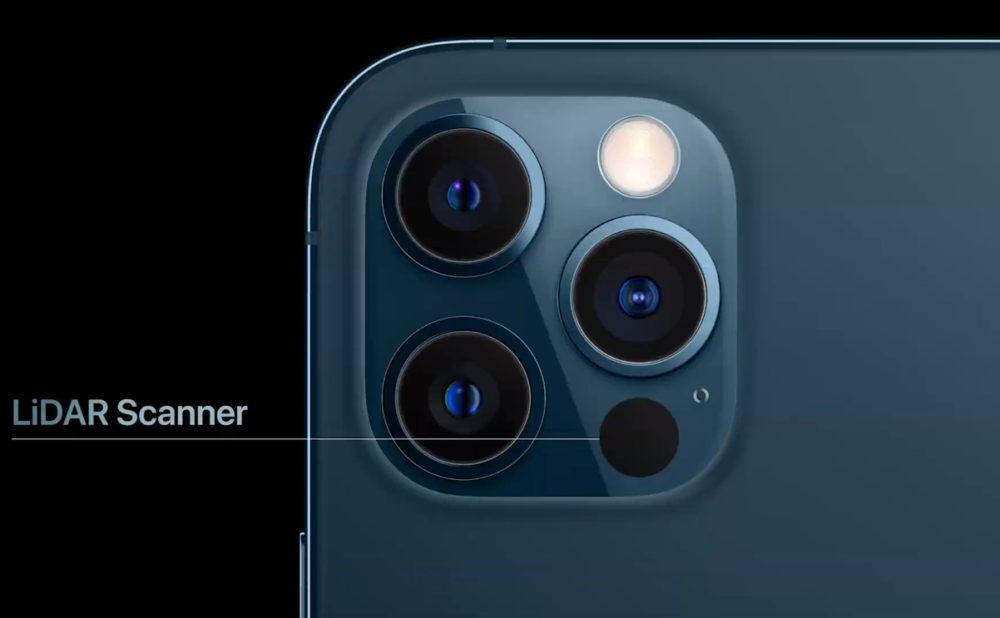 iPhone 13 : le scanner LiDAR serait proposé sur tous les modèles