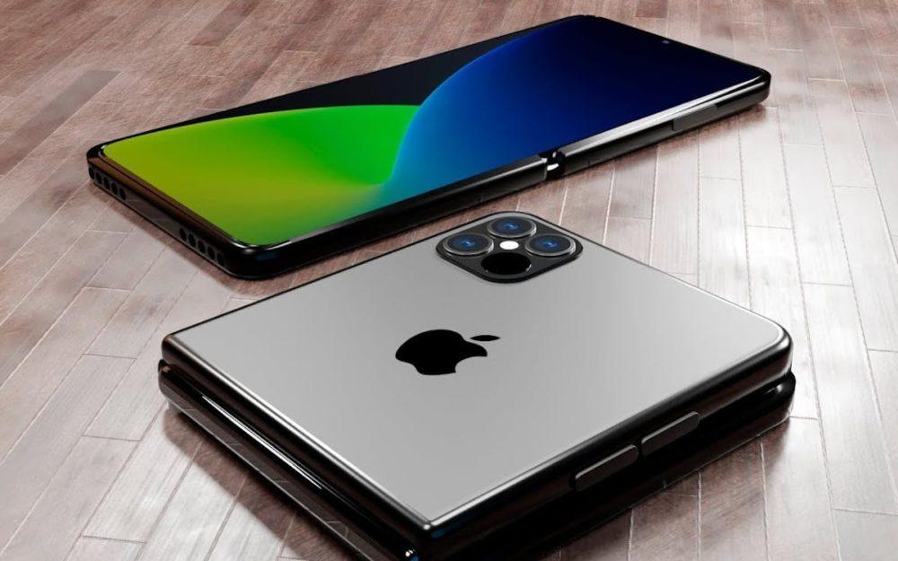 iPhone Pliable concept iPhone pliables : deux prototypes auraient subi des tests de durabilité dApple