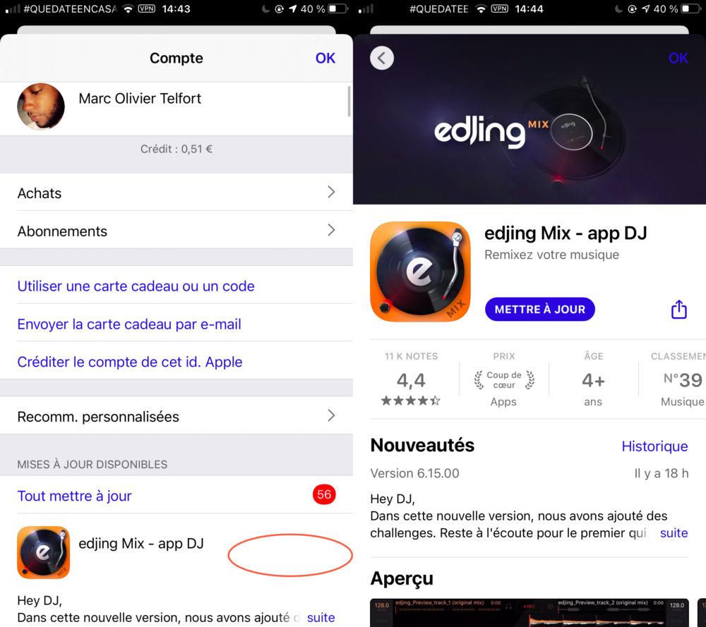 App Store Disparition Bouton Mise a Jour App Store : disparition du bouton « Mettre à jour » chez certains utilisateurs