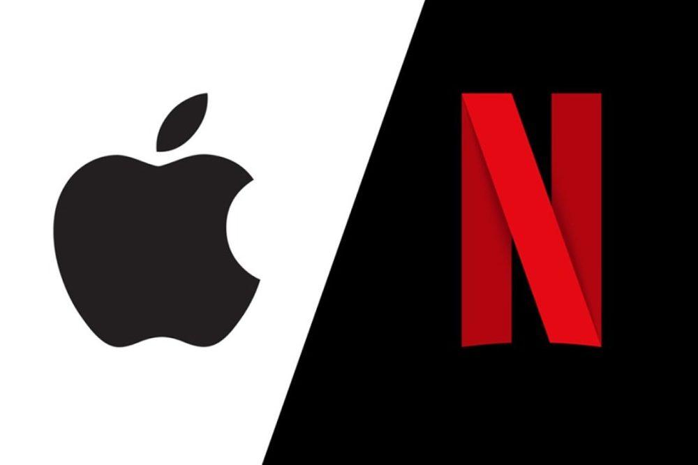 Apple Netflix Le cofondateur de Netflix déclare que la concurrence est loin dApple TV+
