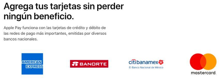 Apple Pay Mexique Banques Compatibles Apple Pay est désormais disponible au Mexique
