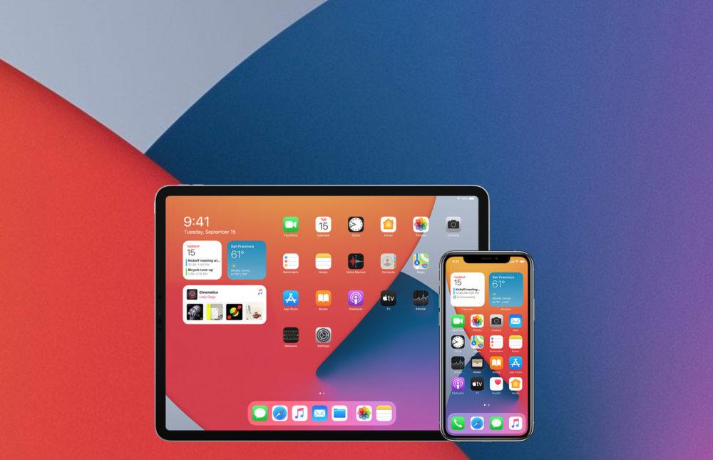 Apple indique quiOS 14 est installé sur 80% des iPhone et iPadOS sur 70% des iPad