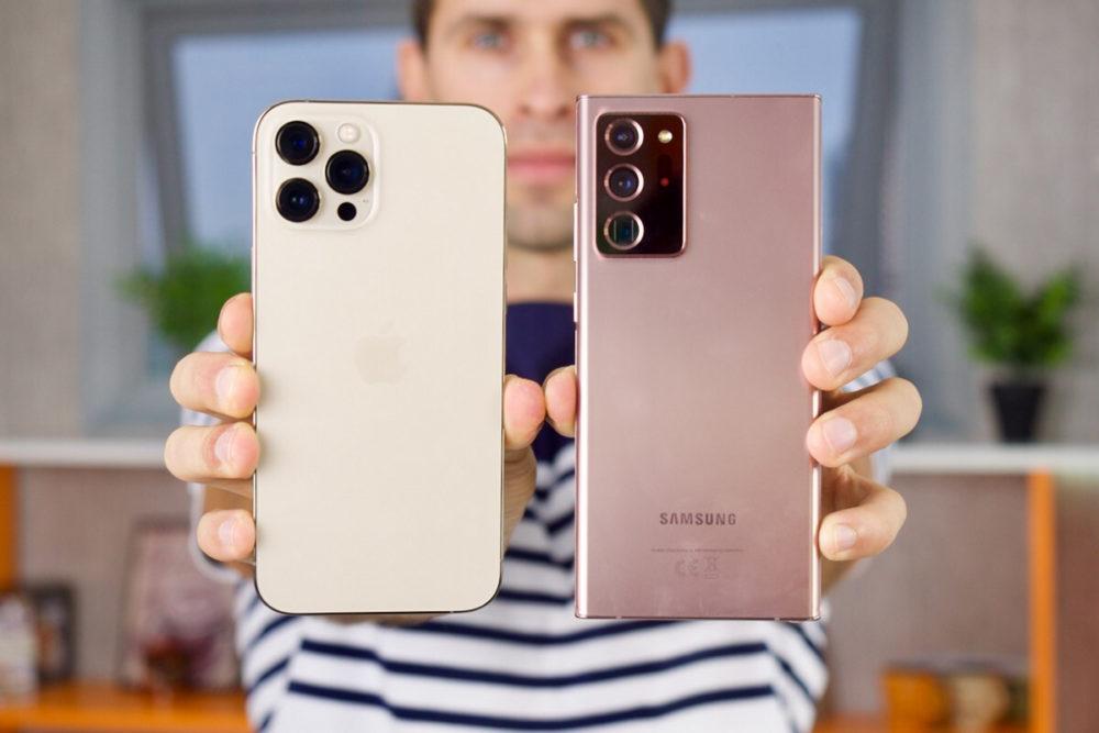 iPhone 12 Galaxy S20 LiPhone 12 Pro Max est le smartphone 5G le plus populaire aux États Unis