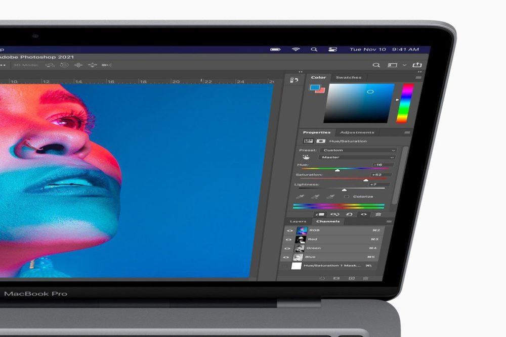 Photoshop est mis à jour par Adobe : support des Mac M1 (Apple Silicon) ajouté