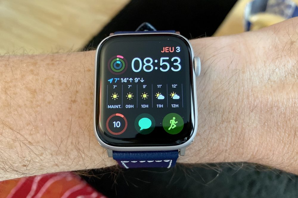 Apple Watch Series 5 watchOS 7.3.2 : des correctifs de sécurité sont au rendez vous