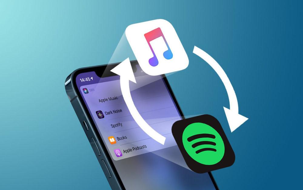 Changer App Musicale par Defaut iOS 14.5 iOS 14.5 : loption qui permet de changer lapp musicale par défaut avec Siri est de retour