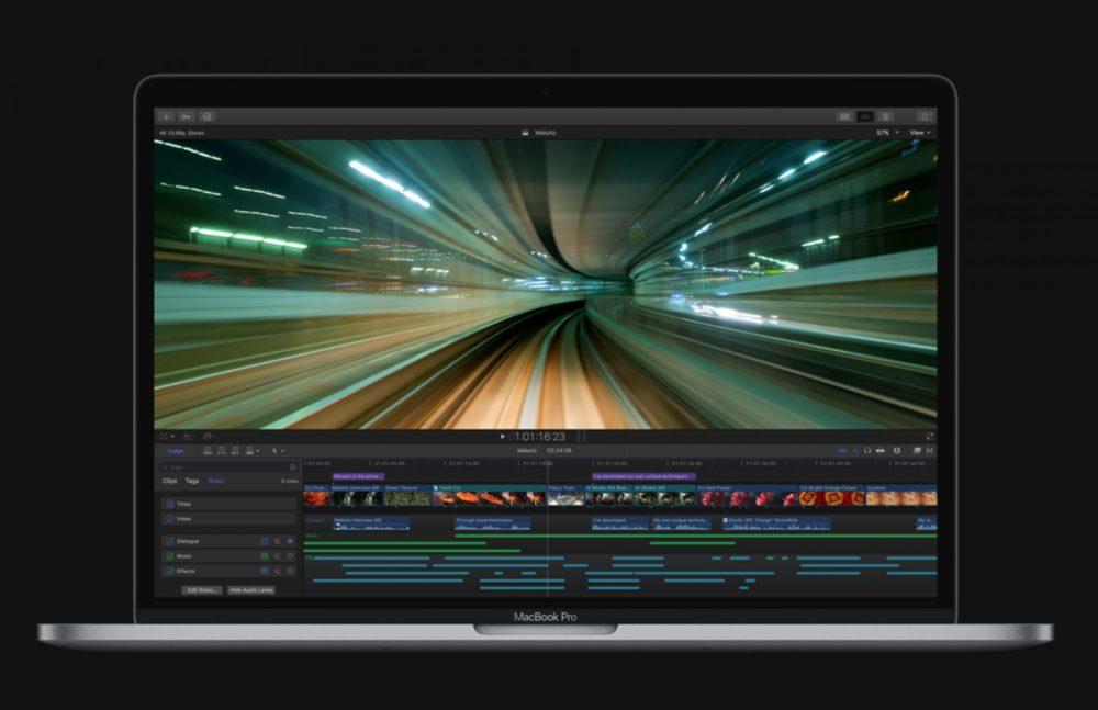 Final Cut Pro MacBook Pro Les apps Final Cut Pro, iMovie, Motion et Compressor sont mises à jour sur Mac