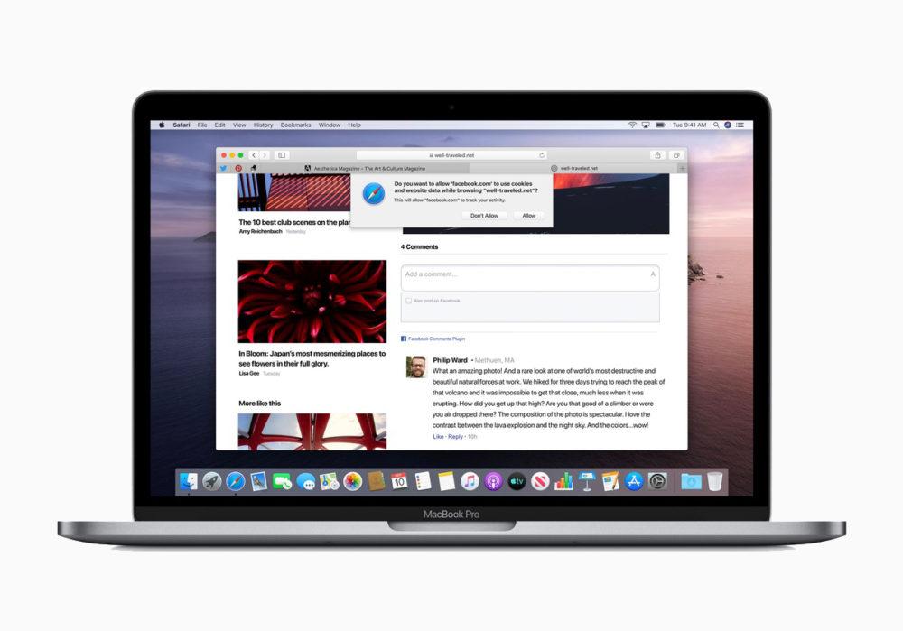 Safari 14 macOS Catalina Des correctifs de sécurité de Safari 14.0.3 pour macOS Catalina et macOS Mojave
