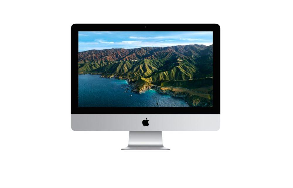 iMac 2.5 Pouces Avec Ecran Retina 4K iMac 21,5 pouces : les options 512 Go et 1 To de stockage SSD ont disparu sur le site dApple