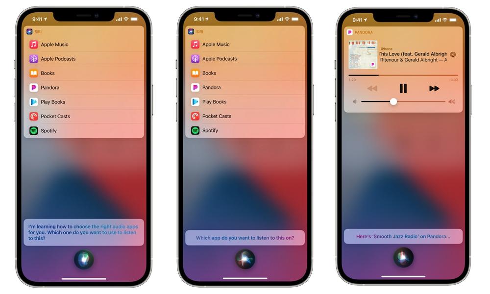 iOS 14.5 Siri Application Musique Selon Apple, iOS 14.5 ne va pas permettre aux utilisateurs de choisir lapp musicale par défaut