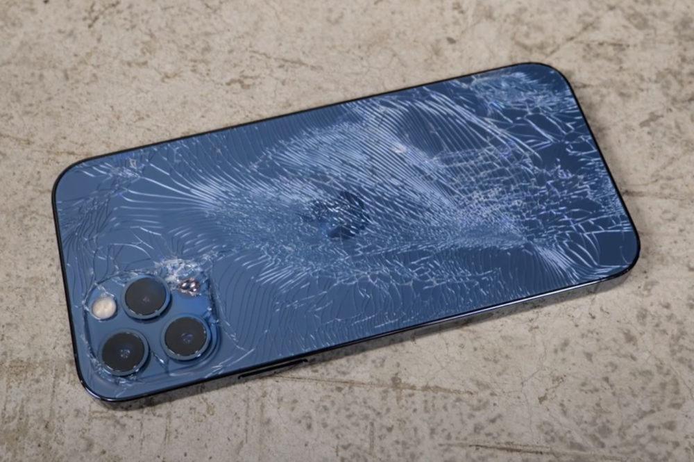 iPhone 12 Pro Facede Arriere Casse Apple va aussi réparer la vitre arrière des iPhone 12 Pro et Pro Max au lieu de les remplacer